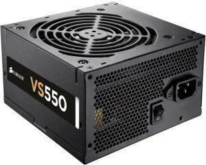 CORSAIR VS SERIES VS550 - 550W POWER SUPPLY υπολογιστές τροφοδοτικα 500 600 watt