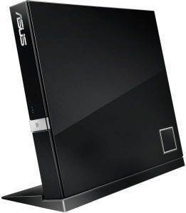 ASUS SBW-06D2X-U EXTERNAL BLU-RAY RECORDER BLACK