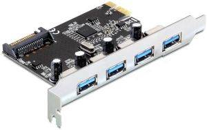 DELOCK 89297 4 X USB 3.0 PCI EXPRESS CARD