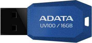 ADATA DASHDRIVE UV100 16GB USB2.0 FLASH DRIVE BLUE