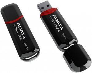 ADATA DASHDRIVE UV150 32GB USB3.0 FLASH DRIVE BLACK
