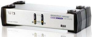 ATEN CS1742C 2-PORT USB DUAL-VIEW KVMP SWITCH