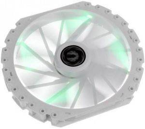 BITFENIX SPECTRE PRO 230MM FAN GREEN LED - WHITE