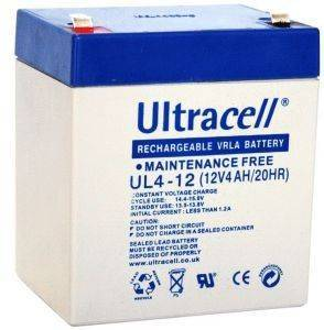 ULTRACELL UL4-12 12V/4AH REPLACEMENT BATTERY