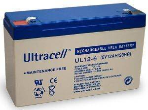 ULTRACELL UL12-6 6V/12AH REPLACEMENT BATTERY