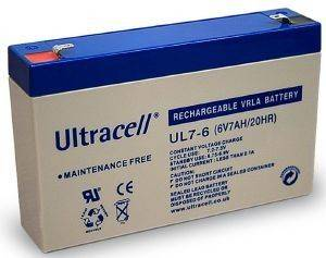 ULTRACELL UL7-6 6V/7AH REPLACEMENT BATTERY