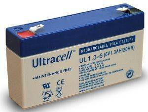 ULTRACELL UL1.3-6 6V/1.3AH REPLACEMENT BATTERY