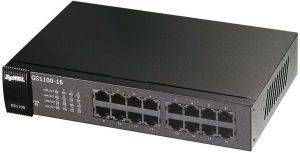 ZYXEL GS1100-16 16-PORT GBE UNMANAGED SWITCH