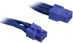 BITFENIX 6-PIN PCIE EXTENSION 45CM - SLEEVED BLUE/BLUE