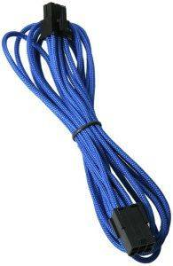 BITFENIX 6-PIN PCIE EXTENSION 45CM - SLEEVED BLUE/BLACK