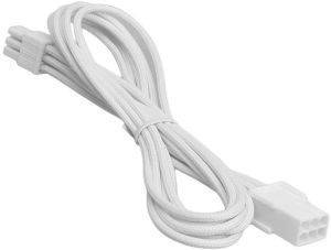 BITFENIX 6-PIN PCIE EXTENSION 45CM - SLEEVED WHITE/WHITE