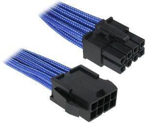 BITFENIX 8-PIN EPS12V EXTENSION 45CM - SLEEVED BLUE/BLACK