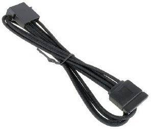 BITFENIX MOLEX TO SATA ADAPTER 45CM - SLEEVED BLACK/BLACK