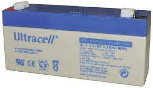 ULTRACELL UL3.3-6 6V/3.3AH REPLACEMENT BATTERY