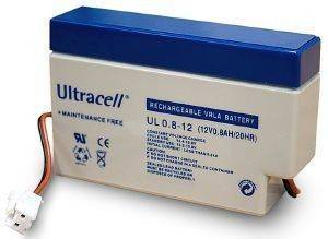 ULTRACELL UL0.8-12S 12V/0.8AH REPLACEMENT BATTERY