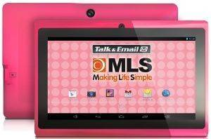 MLS IQTAB CANDY 7  DUAL CORE 1GHZ 8GB WIFI ANDROID 4 2