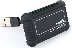 NATEC NCZ-0206 BEETLE ALL-IN-ONE USB2.0 CARD READER