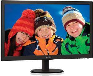 PHILIPS 273V5LHAB 27'' LED MONITOR FULL HD WITH BUILT-IN SPEAKERS BLACK