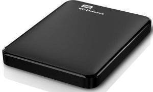 WESTERN DIGITAL WDBUZG7500ABK ELEMENTS PORTABLE 750GB USB3.0 BLACK