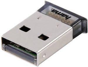 HAMA BLUETOOTH USB ADAPTER, VERSION 4.0 + EDR υπολογιστές bluetooth adapters usb