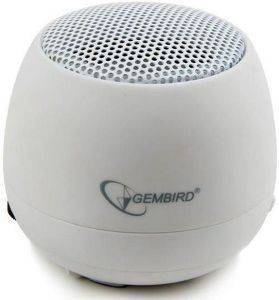 GEMBIRD SPK-103-W PORTABLE SPEAKER WHITE