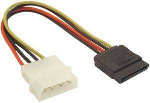 NATEC NKA-0612 SERIAL ATA POWER MOLEX(M) TO SATA(F) CABLE 15CM