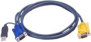 ATEN 2L-5202UP VGA TO SPHD INTELLIGENT KVM CABLE 1.8M