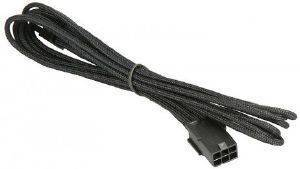 BITFENIX 6-PIN PCIE EXTENSION 45CM - SLEEVED BLACK/BLACK