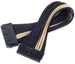 SILVERSTONE PP07-MBBG ATX 24-PIN CABLE 300MM BLACK/GOLD