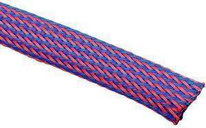 TECHFLEX FLEXO PET SLEEVE 13MM BLUE/RED 1M