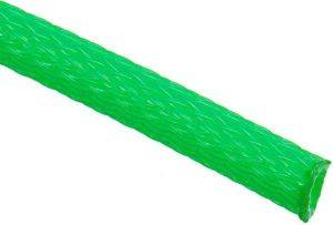 TECHFLEX FLEXO PET SLEEVE 6MM NEON GREEN 1M