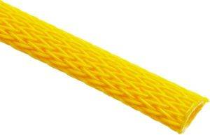 TECHFLEX FLEXO PET SLEEVE 6MM NEON YELLOW 1M