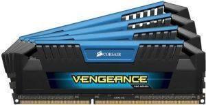 CORSAIR CMY32GX3M4A1600C9B VENGEANCE PRO BLUE 32GB  4X8GB  DDR3 1600MHZ QUAD CHANNEL
