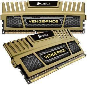 CORSAIR CMZ8GX3M2B1600C9G VENGEANCE GREEN 8GB  2X4GB  DDR3 1600MHZ DUAL CHANNEL KIT