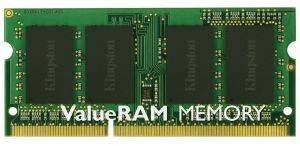 KINGSTON KVR16LS11S6/2 2GB SO-DIMM DDR3 1600MHZ PC3-12800 VALUE RAM
