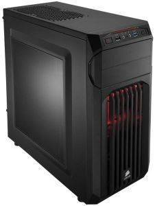 CORSAIR CARBIDE SERIES SPEC-01 MID TOWER CASE RED LED