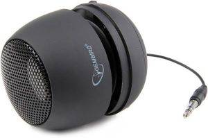 GEMBIRD SPK-103 PORTABLE SPEAKER BLACK