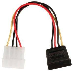 VALUELINE VLCP73500V015 POWER ADAPTER CABLE SATA 15 PIN FEMALE MOLEX MALE 015M PHOTO