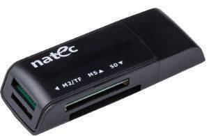 NATEC NCZ-0560 MINI ANT 3 CARD READER SDHC USB2.0 BLACK