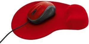 TRUST 20427 PRIMO MOUSE WITH MOUSE PAD RED