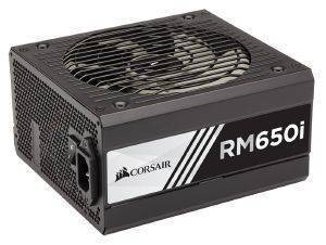 PSU CORSAIR RMI SERIES RM650I - 650W 80 PLUS GOLD CERTIFIED FULLY MODULAR