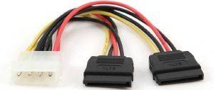 CABLEXPERT CC-SATA-PSY 2X SERIAL ATA POWER CABLE 15CM