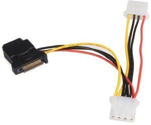 STARTECH SATA TO LP4 POWER CABLE ADAPTER WITH 2 ADDITIONAL LP4