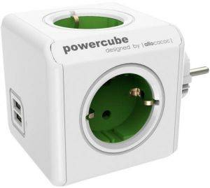 ALLOCACOC POWERCUBE ORIGINAL USB GREEN TYPE F FOR EXTENDED CUBES