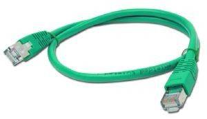 CABLEXPERT PP22-0.5M/G GREEN FTP PATCH CORD MOLDED STRAIN RELIEF 50U PLUGS 0.5M