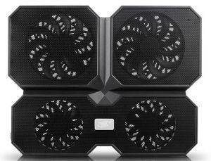 DEEPCOOL MULTICORE X6 DUAL 140MM + DUAL 100MM NOTEBOOK COOLER 15.6