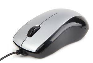 GEMBIRD MUS-U-002 OPTICAL MOUSE USB BLACK/SILVER