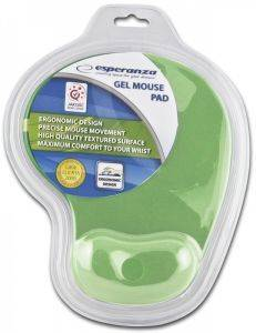 ESPERANZA EA137G GEL MOUSEPAD GREEN
