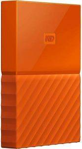 ΕΞΩΤΕΡΙΚΟΣ ΣΚΛΗΡΟΣ WESTERN DIGITAL NEW! WDBYNN0010BOR MY PASSPORT 1TB USB3.0 ORANGE