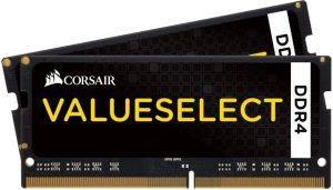 RAM CORSAIR CMSO16GX4M2A2133C15 VALUE SELECT 16GB (2X8GB) SO-DIMM DDR4 2133MHZ DUAL KIT
